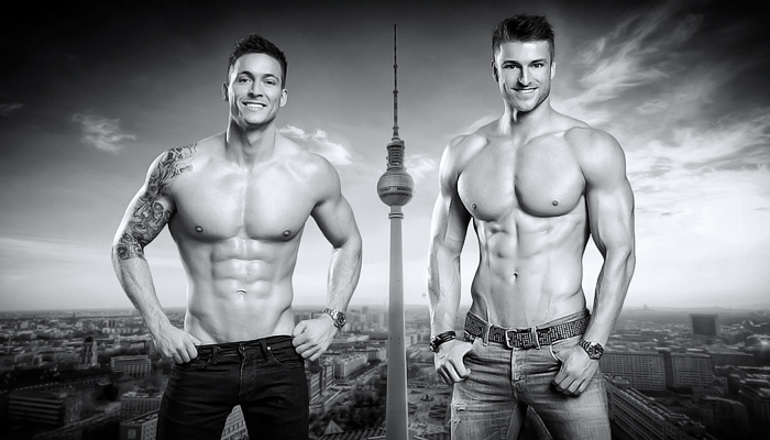 Berlin Dreamboys » Website Erstellung by J.R. Foto, Web & Design